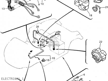 Yamaha G14-EM 1995 parts lists and schematics