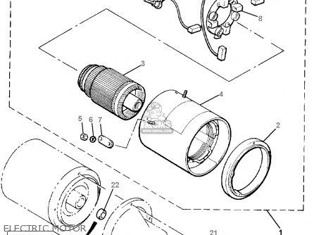 Yamaha G19-EP/ER 1996/1997 parts lists and schematics