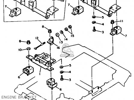 Yamaha G2-A6 1986 parts lists and schematics