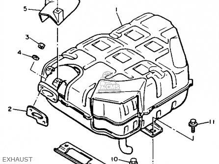Yamaha G2-A6 1986 parts lists and schematics