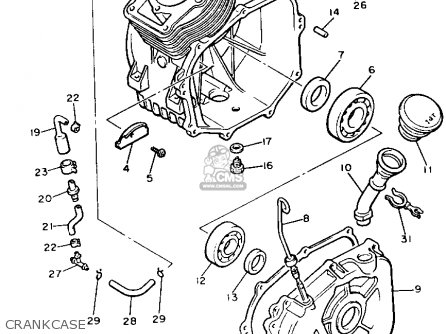Yamaha G2 Engine Parts Ezgo Golf Engine Parts Wiring