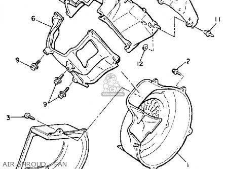 Yamaha G2-ad 1989 parts list partsmanual partsfiche