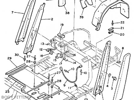 Yamaha G2-AD 1989 parts lists and schematics