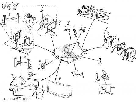 Yamaha G2-e 1985/1986 parts list partsmanual partsfiche