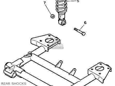 Yamaha G2-e5 1985/1986 parts list partsmanual partsfiche