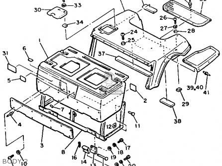 Yamaha G2-EB 1987 parts lists and schematics