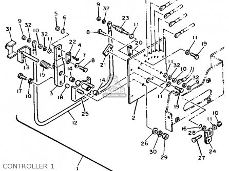 Yamaha G2-EB 1988 parts lists and schematics