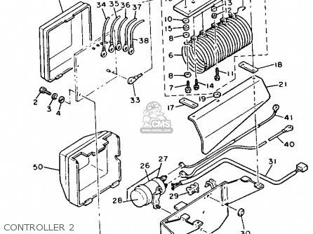 Yamaha G2-EB 1988 parts lists and schematics