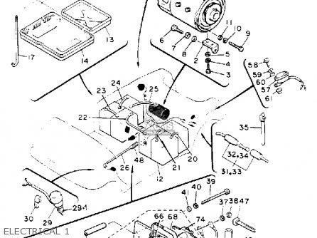 Yamaha G2-ED 1989 parts lists and schematics