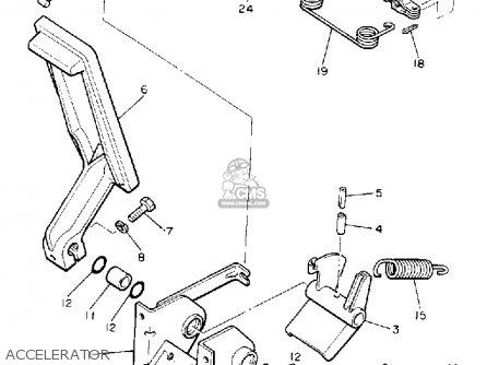 Yamaha G5-AF 1990 parts lists and schematics
