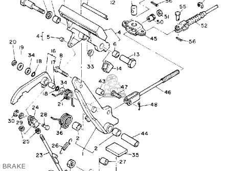 Yamaha G5-ag 1991 parts list partsmanual partsfiche