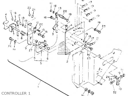 Yamaha G5-EH 1992 parts lists and schematics
