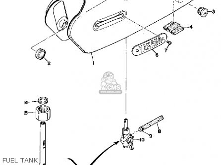 Yamaha G7S 1970-1972 parts lists and schematics