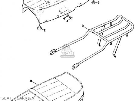 Yamaha G7s 1970-1972 parts list partsmanual partsfiche
