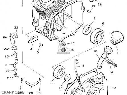 Yamaha G8-AH 1992 parts lists and schematics
