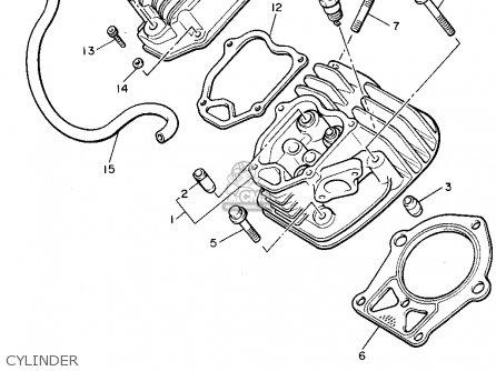 Yamaha G8-AJ 1993 parts lists and schematics
