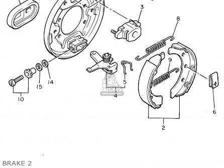 Yamaha G8-ak Golf Car 1994 parts list partsmanual partsfiche