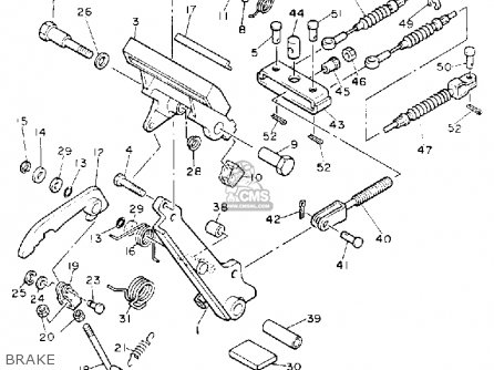 Yamaha G8-EH 1992 parts lists and schematics