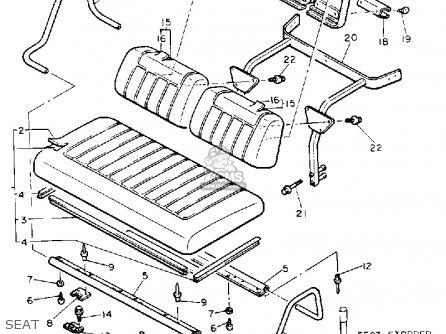 Yamaha G8-eh 1992 parts list partsmanual partsfiche