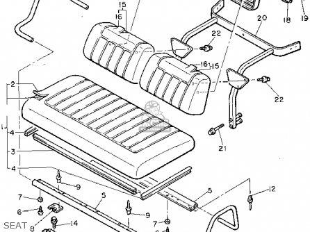 Yamaha G8-EK 1994 parts lists and schematics