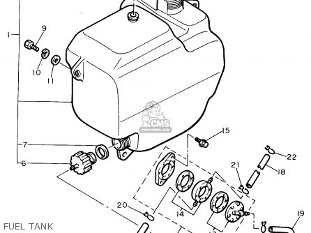 Yamaha G8AK GOLF CAR 1994 parts lists and schematics