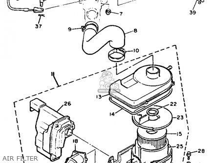 Yamaha G9-AH GOLF BUGGY 1992 parts lists and schematics