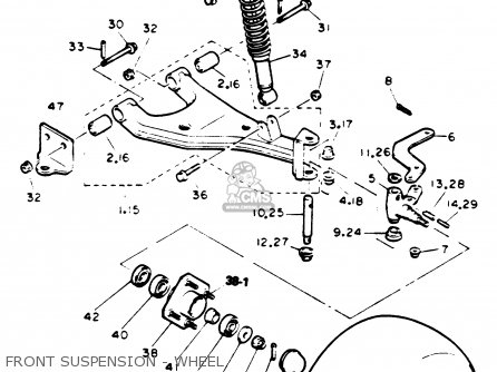 Yamaha G9 Golf Cart Parts Diagram Yamaha Cart Engine