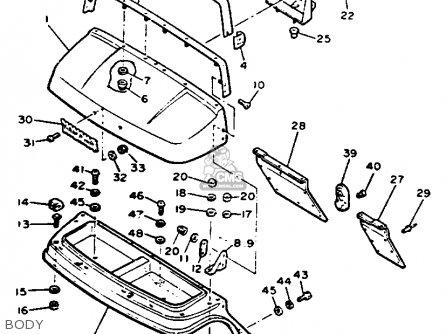 Yamaha G9-ah Golf Car 1992 parts list partsmanual partsfiche