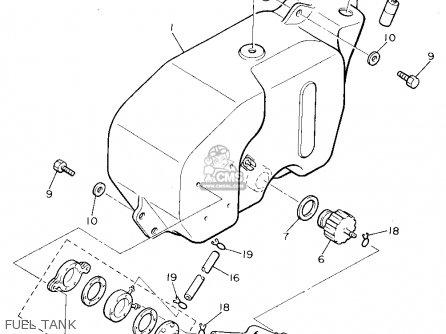 Yamaha G9-aj 1993 parts list partsmanual partsfiche