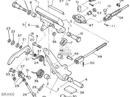 Yamaha G9-ak Golf Car 1994 parts list partsmanual partsfiche
