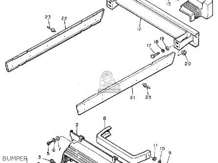 Yamaha G9-eg 1991 parts list partsmanual partsfiche
