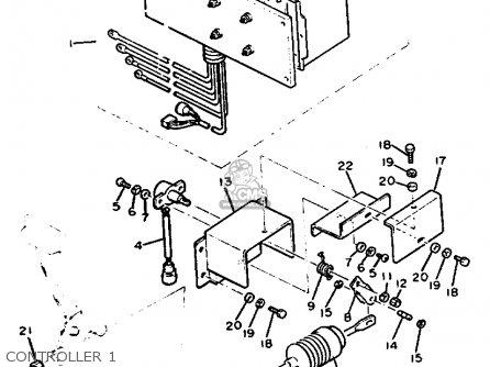 Yamaha G9-eh2 1992 parts list partsmanual partsfiche