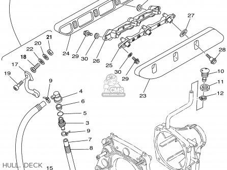 Yamaha GP1200AZ 2001 USA parts lists and schematics