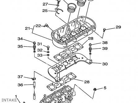Yamaha GP1200X 1999 USA parts lists and schematics