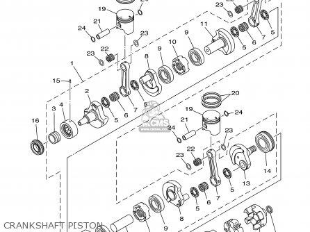 Yamaha Gp1300-b/c-b 2003 Usa California parts list