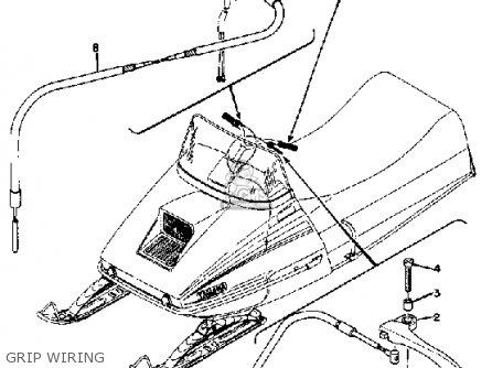 Yamaha Gp246f 1974 parts list partsmanual partsfiche
