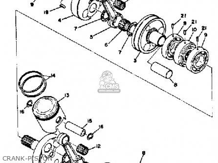Yamaha GP338 1973 parts lists and schematics