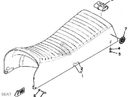Yamaha Gp440a 1977 parts list partsmanual partsfiche