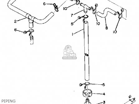 Yamaha GP643 1972 parts lists and schematics