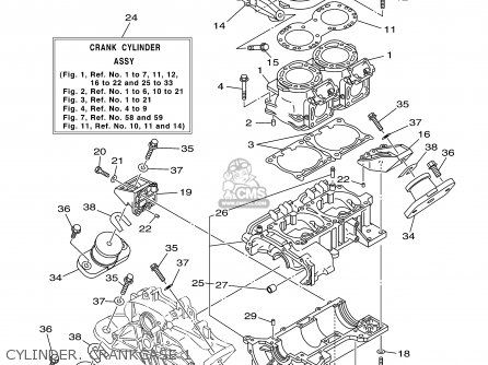 Yamaha Gp800a-a 2002 Usa Usa Except California parts list