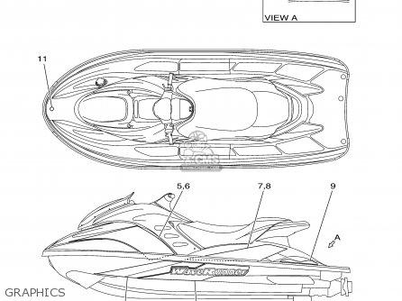 Yamaha GP800A-A 2002 USA USA EXCEPT CALIFORNIA parts lists