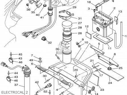 Yamaha Gp800az 2001 parts list partsmanual partsfiche