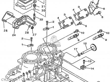 Yamaha Gp800w 1998 Usa Europe Canada parts list