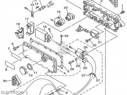 Yamaha GP800W 1998 USA EUROPE CANADA parts lists and