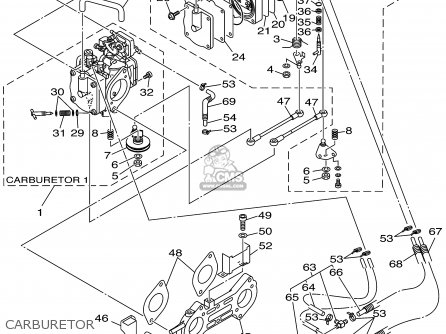 Yamaha GP800X 1999 parts lists and schematics