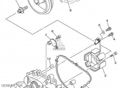 Yamaha GP800X 1999 parts lists and schematics
