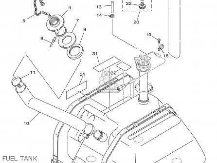 Yamaha Gp800y 2000 parts list partsmanual partsfiche