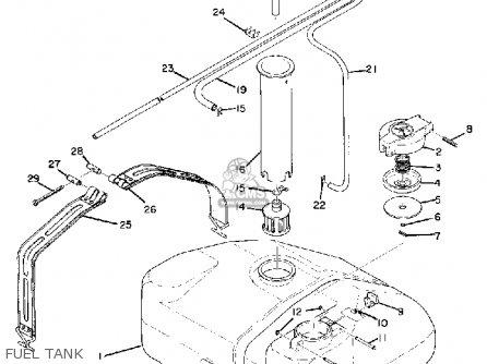 Yamaha GS340 1976 parts lists and schematics
