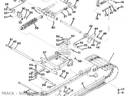 Yamaha Gs340 1976 parts list partsmanual partsfiche