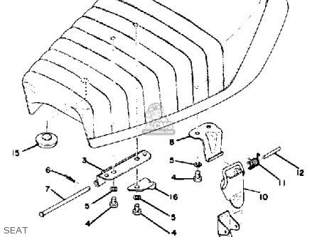 Yamaha GT80 1976 USA parts lists and schematics